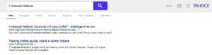 Il Metodo Italiano Yahoo