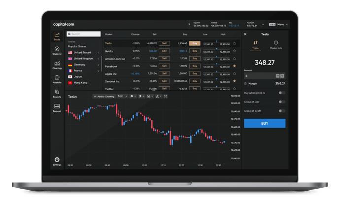 capital piattaforma trading cfd forex crypto online
