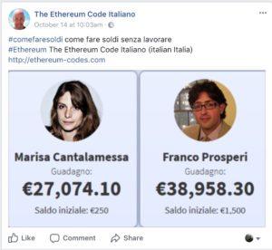 The Ethereum Code Truffa Giacomo Testi