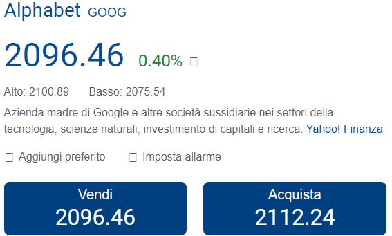 azioni google plus500