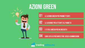 Azioni Green | Le migliori 7 da comprare