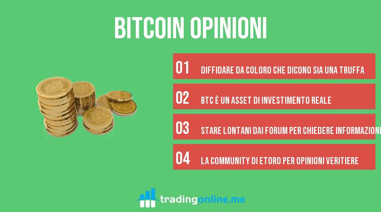 investire in bitcoin recensioni trading online consob