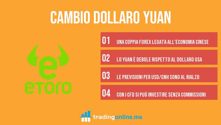 cambio dollaro yuan