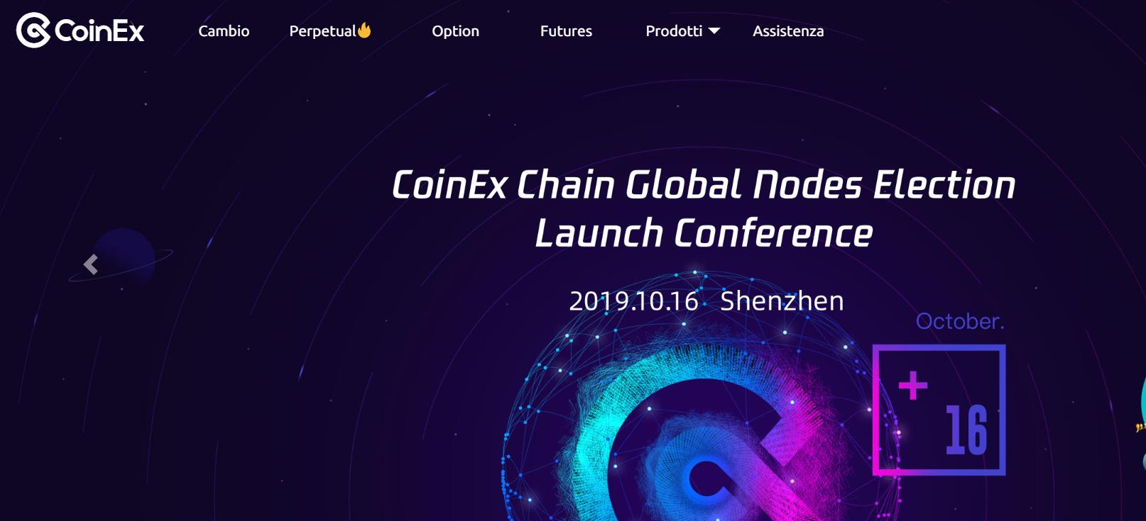 Coinex forex broker