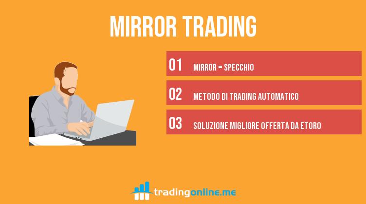 come funziona il mirror trading