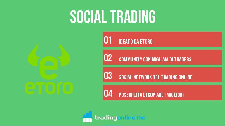 come funziona il social trading