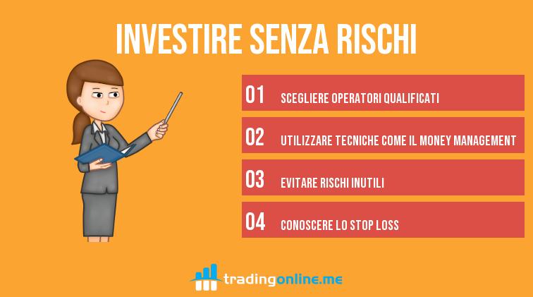 come investire senza rischi
