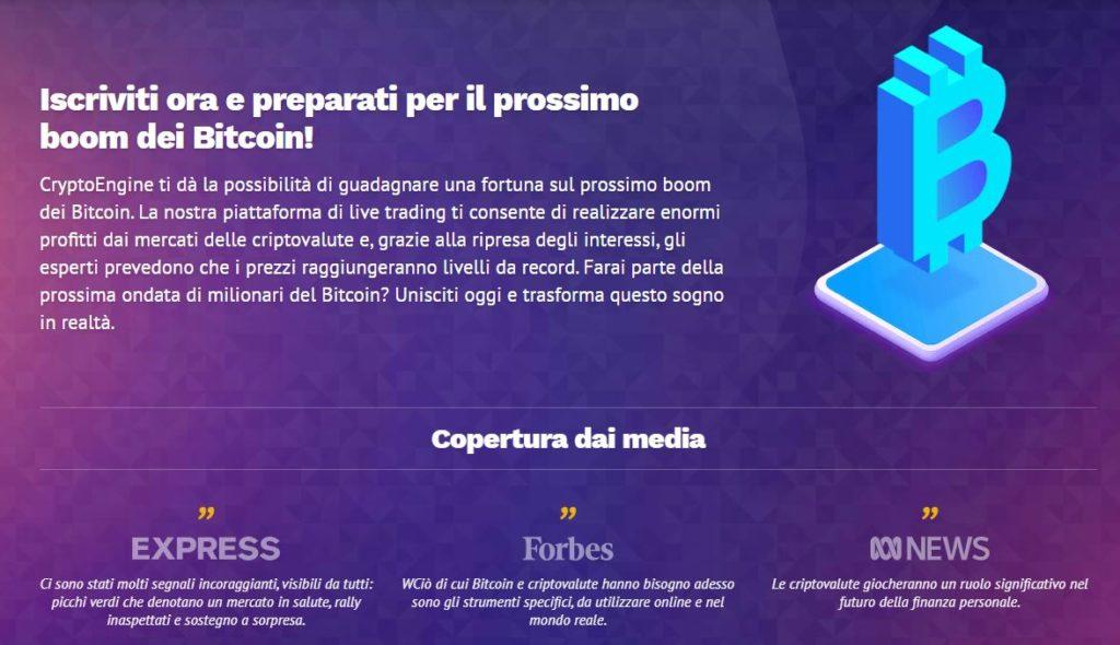 crypto engine Bitcoin