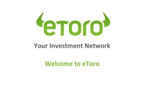 eToro criptovalute broker