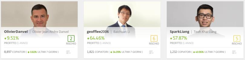 trading automatico Bitcoin con etoro