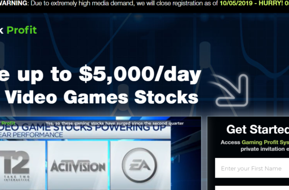 gaming stock profit