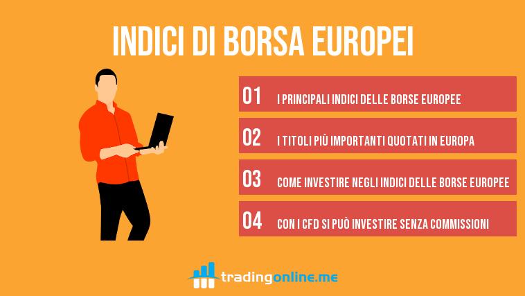 indici di borsa europei