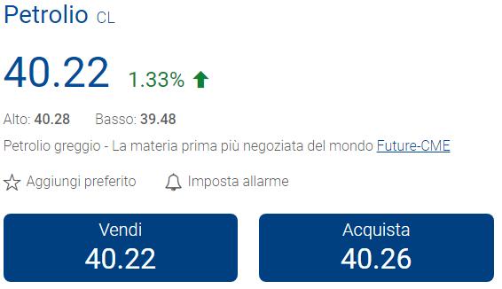 investire nel petrolio plus500