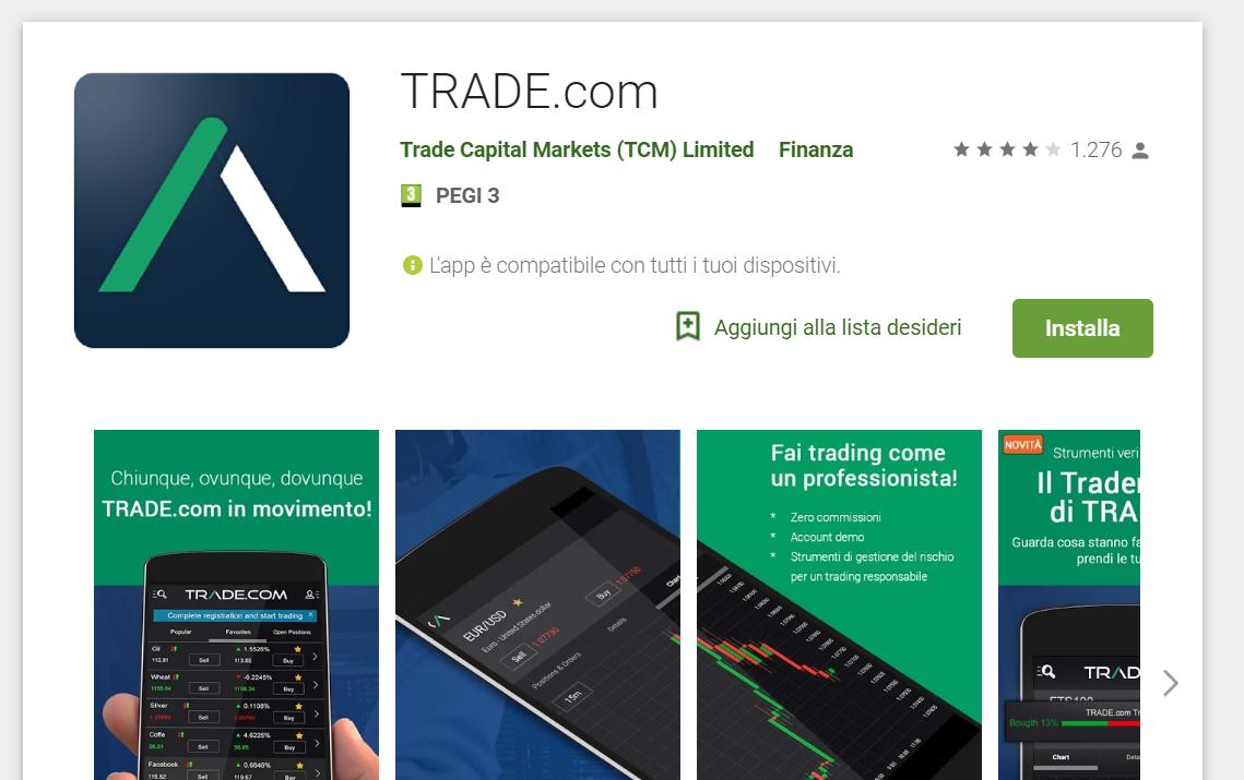 migliori app di trading trade.com