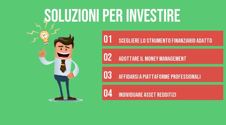 soluzioni per investire